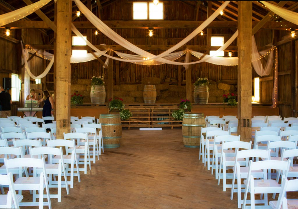 Freedom Run Winery wedding venue in Lockport, NY.