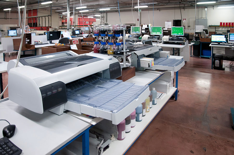 The Importance of Printing - Photo lab with professional printing equipment